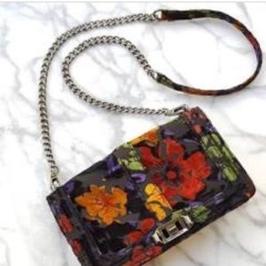Rebecca Minkoff NWT Velvet floral bag